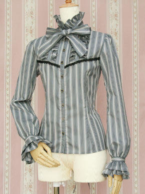 Regimental Stripe Blouse