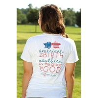 Southern Darlin American by Birth Southern by the Grace of God USA T-Shirt