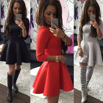 Casual Skater Dress