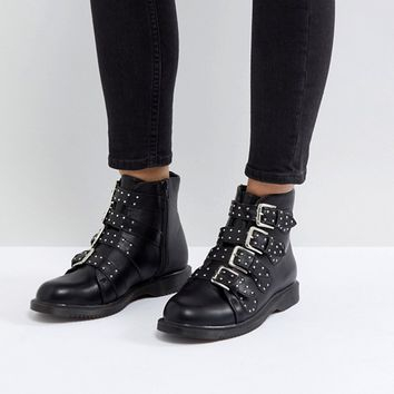 Truffle Collection Buckle Ankle Boots at asos.com