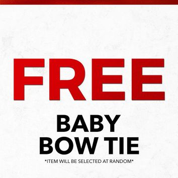 Christmas 2018 Free Baby Bow Tie Gift With Purchase