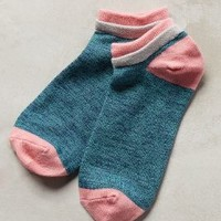 Richer Poorer Inc Colorblocked Ankle Socks in Blue Size: One Size Socks