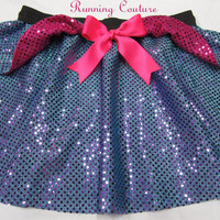 Fairy Godmother bippity boppity boo inspired Sparkle Running Misses Round skirt Cinderella