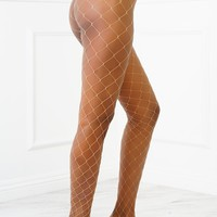 Essential Fishnets - Nude