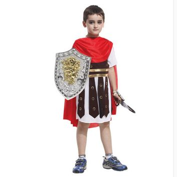 June 1 children's day The king prince cosplay Christmas party supplies Roman dress soldiers