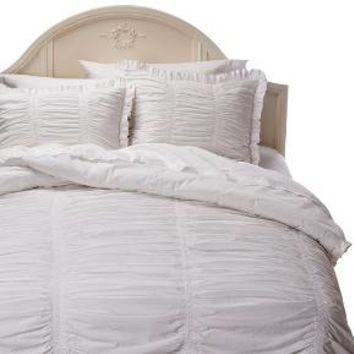 Simply Shabby Chic® Ruched Comforter Set : Target