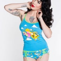 Adventure Time Tanktop and Hipster Brief Set
