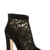 Women's Dolce&Gabbana Lace Ankle Bootie