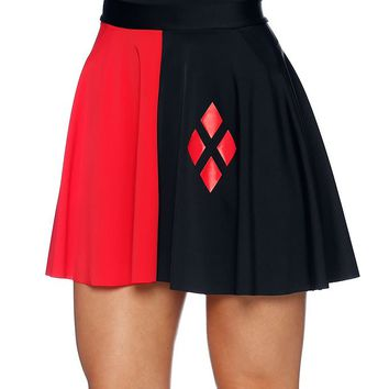 HARLEY QUINN POCKET SKATER SKIRT