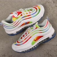 New Nike Air Max 97 White Camo Shoes - Best Online Sale