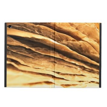 abstract textured paper design iPad air cases