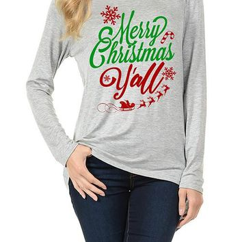Merry Christmas Yall Shirt