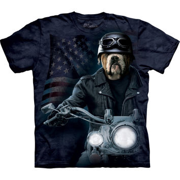 Bulldog Biker Sam T-Shirt
