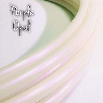 "11/16"" Purple Opal Color Shifting Polypro Hula Hoop// Dance Hoop// Performance Hoop//Goldilocks"