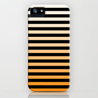Orange Stripes iPhone & iPod Case by PUFF.