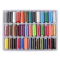 Mixed Color Sewing Textile Thread Spools Knit Sets (Size: 0, Color: Multicolor) = 1958060996