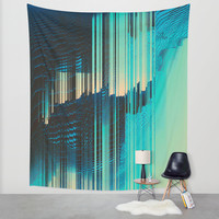 Rain on the Window Wall Tapestry by DuckyB (Brandi)