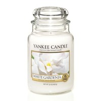 Yankee Candle 22-Ounce Jar Scented Candle, Large, White Gardenia