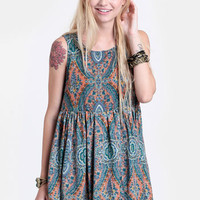 Seeking Enlightenment Babydoll Dress