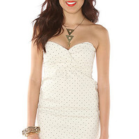 Volcom The Frochickie Dress in Moon Beam Dot : Karmaloop.com - Global Concrete Culture