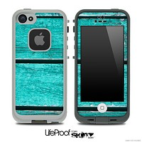 Trendy Green Wood V4 Skin for the iPhone 5 or 4/4s LifeProof Case