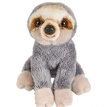 "Wildlife Tree 5"" Stuffed Zoo Animal Plush Floppy Sloth Buttersoft Collection"