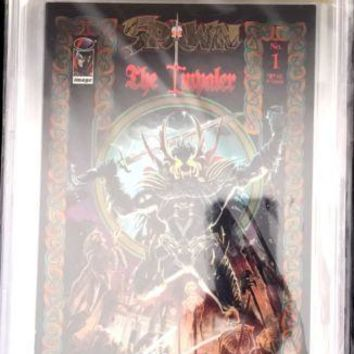 Spawn The Impaler #1 CBCS 9.6 Signed By Mike Grell