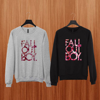 fall out boy sweater Black/Gray/Blue/Orange/Red/Yellow Sweatshirt Crewneck Men or Women Unisex Size