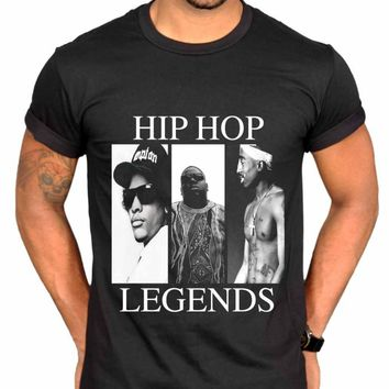 Hip Hop Legends N.W.A Graphic T-shirt Plus Size