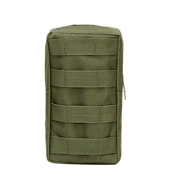 Multi-Purpose Tactical MOLLE EDC 600D Nylon 21X11.5 cm Utility Gadget Pouch Tools Waist Bags Outdoor Pack
