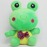 Plush Frog Figure Stuffed Animals Cartoon Kids Toys Christmas