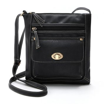 Women Bag Bolsa Feminina Women's Handbags Bolsos Mujer Women's Shoulder Bag Leather Satchel Cross Body Shoulder Messenger Bag
