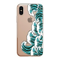 Full Great Wave Kanagawa - iPhone Clear Case