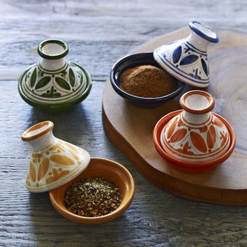 Fez Mini Tagines - Set of 4