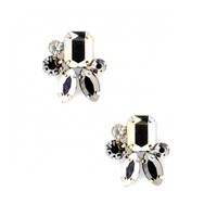Sole Society Mini Stone Cluster Studs