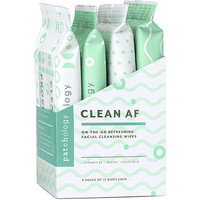 Online Only Clean AF On-The-Go Refreshing Facial Cleansing Wipes