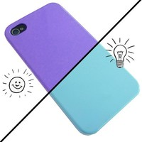 iChange iPhone 4 Case - Blue to Purple
