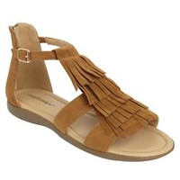 Ellie Fringe Sandal by Comfortview® Energy Flex®