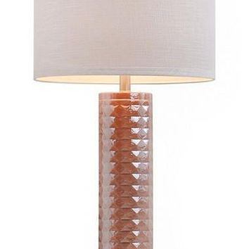 JAlexander Faceted Glass Table Lamp
