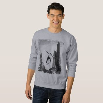 City Street Skateboard Skater Filmstrip Sweatshirt