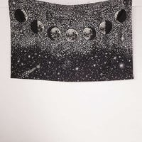 Stardust Glow-In-The-Dark Tapestry | Urban Outfitters