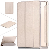 for Apple iPad Air 1 5 6 Air 2 Leather Case For iPad Mini 1 2 Retina 3 7.9 Luxury Clear Stand Smart Cover for iPad mini 3 Air 2