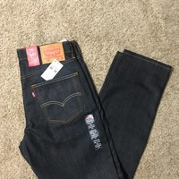 NW1T (store return) Levis 541 Athletic Fit Blue Jeans (0025) 1% Elastane Stretch
