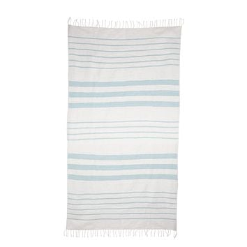 Striped Cotton Beach & Bath Towel