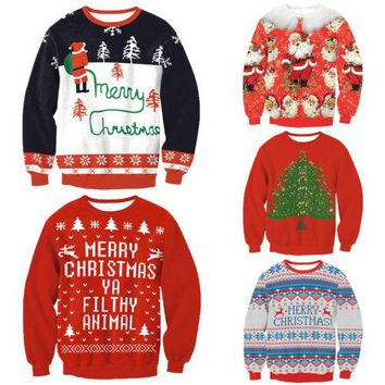 Delightfully Ugly Christmas Sweater