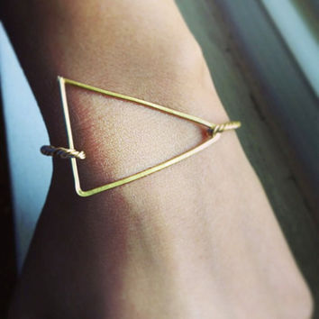 Triangular Bracelet