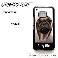 New Design Funny Hilarious Pug Life Parody Fans For HTC One M9 Case Please Make Sure Your Device With Message Case UY
