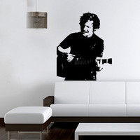Ed Sheeran Portrait Wall Sticker Girls Bedroom Vinyl Decal Mural Art Large