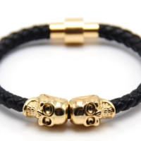 2016 new fashion leather bracelet.