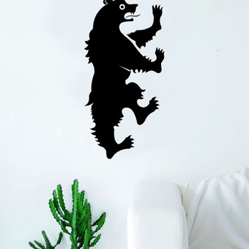 Game of Thrones House Mormont Decal Sticker Wall Vinyl Living Room Bedroom Art Decor TV Shows